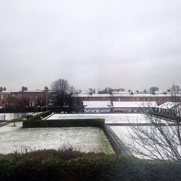 Nevicata irlandese