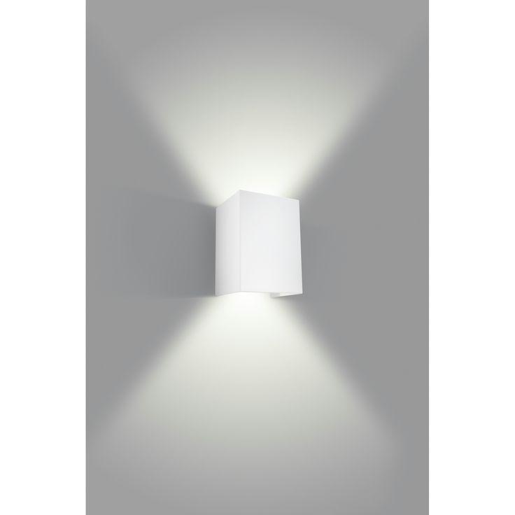 Philips myLiving wandlamp Hopsack wit badkamer wandlamp