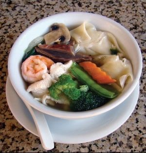 Wor won ton, this recipe takes won ton soup to a whole new level!