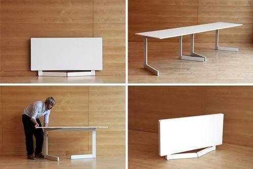 mesa plegable minimalista