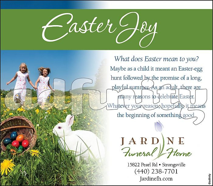 Easter Joy - Stock Ad 010106
