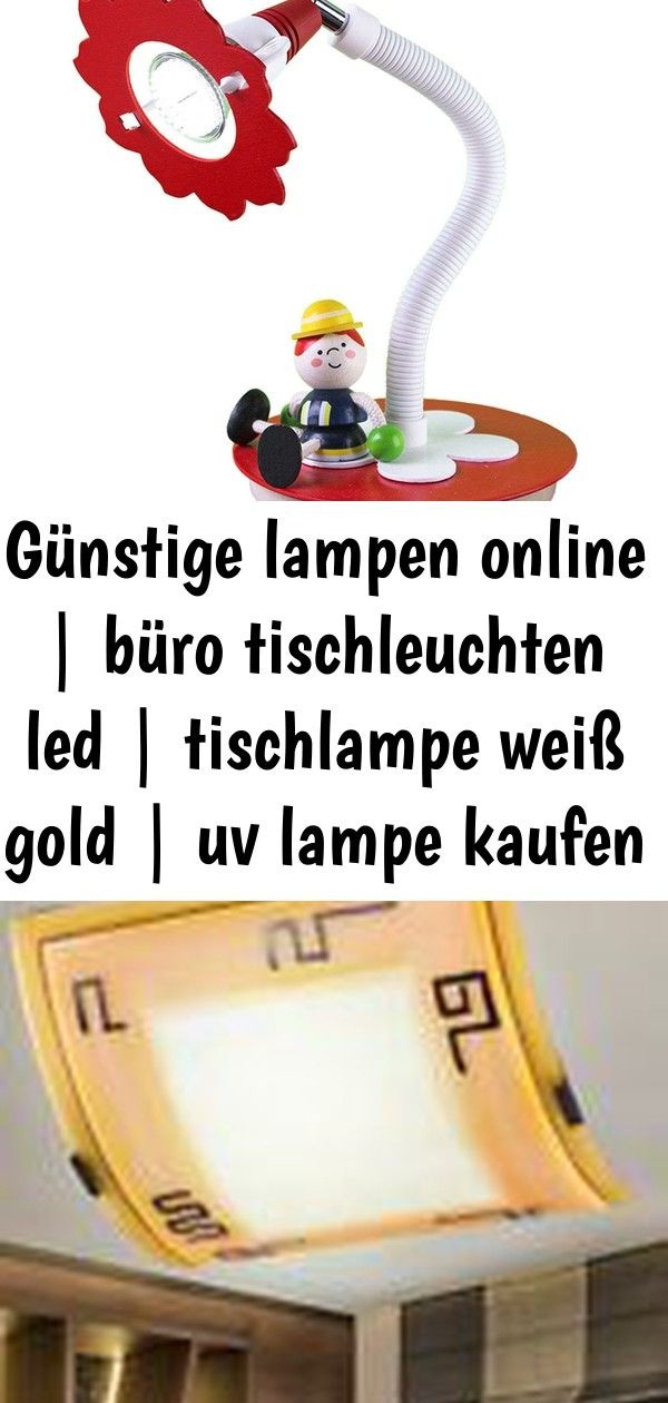 Gunstige Lampen Online Buro Tischleuchten Led Tischlampe Weiss Gold Uv Lampe Kaufen Munchen 6 Decor