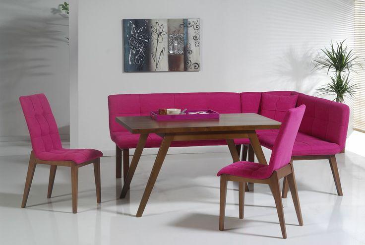 Amsterdam Pembe Ekbank Seti Kargo Bedava Hemen Al. Bu Fırsatı Kaçırma!!! TIKLA : www.evbenimev.com ✔✔✔ #dinnertable #sofra #runner #masa #ev #evbenimev #home #homedecor #homedecors #homedesign #homedesigner #decor #dekor #decora #decors #design #dekorasyon #decorations #yemek #sofra #colors #colorful