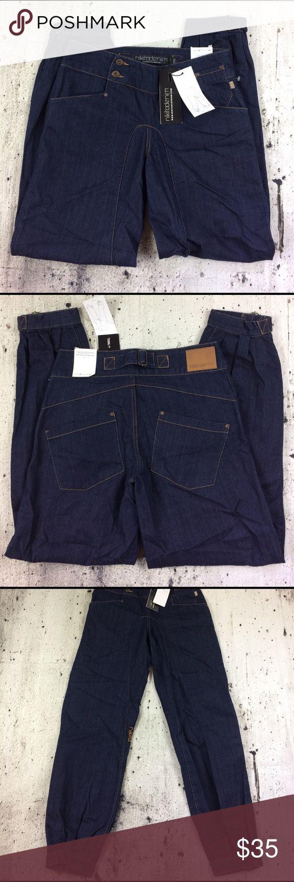 "Nikita the Reality jeans Nikita the Reality jeans 100% cotton inseam 34"" rise 10"" Nikita Jeans"