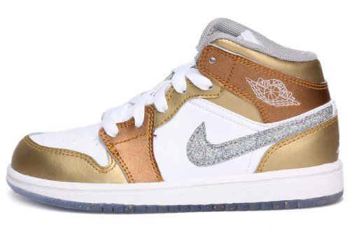 JORDAN GIRLS JORDAN 1 PHAT (PS) Style# 364782 LITTLE KIDS