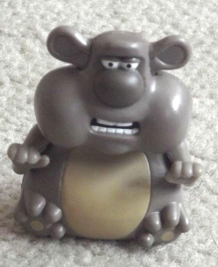 3D Cake Topper Creature Comforts Bear,Bear creature comforts figure-New-Rare
