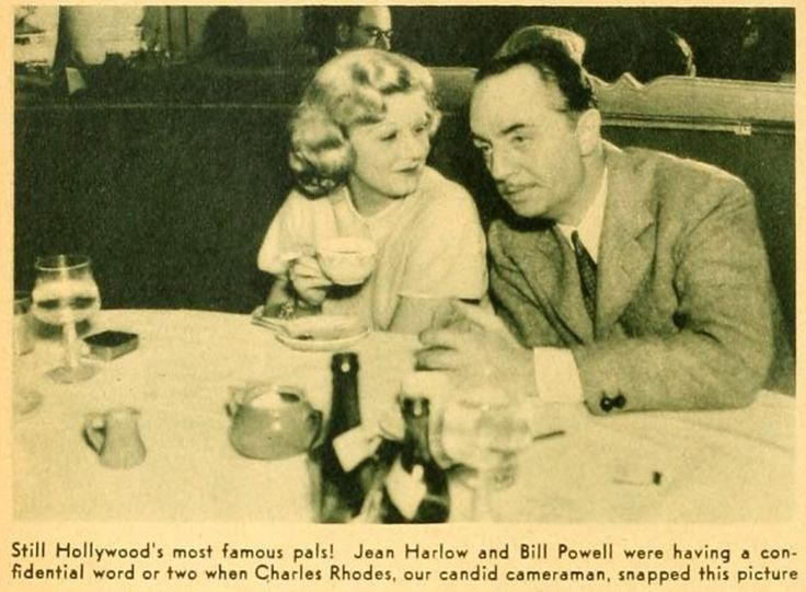William Powell spoke in a very rare interview about Jean Harlow's death. Description from imaginemdd.blogspot.com. I searched for this on bing.com/images