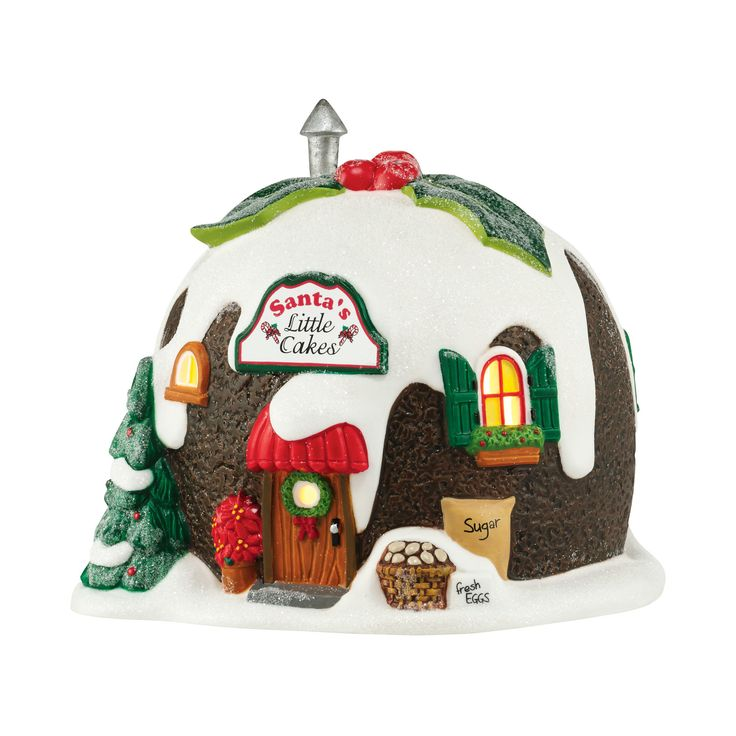 Department 56 Santa's Little Cakes