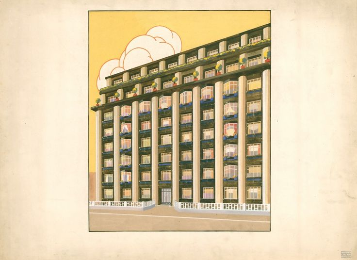 immeuble d'habitation_1927-1931