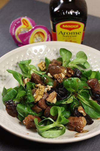 Vous aimez les salades landaises ? Alors celle-ci vous allez l'adorer ! C'est ma troisième et dernière recette que j'avais réalisé pour l'atelier Maggi, et elle est particulièrement savoureuse, ave...