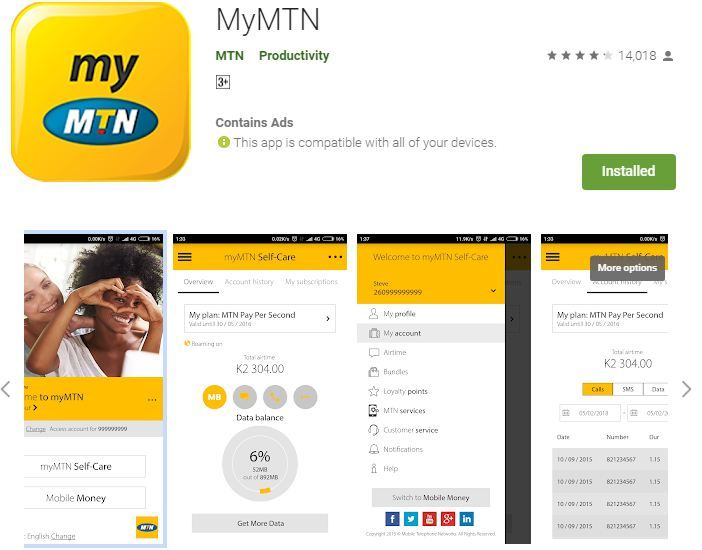Free 500mb Data Mymtn App App Tech News Latest Electronic Gadgets