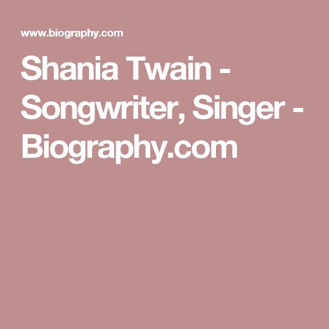 Shania Twain - Songwriter, Singer - Biography.com