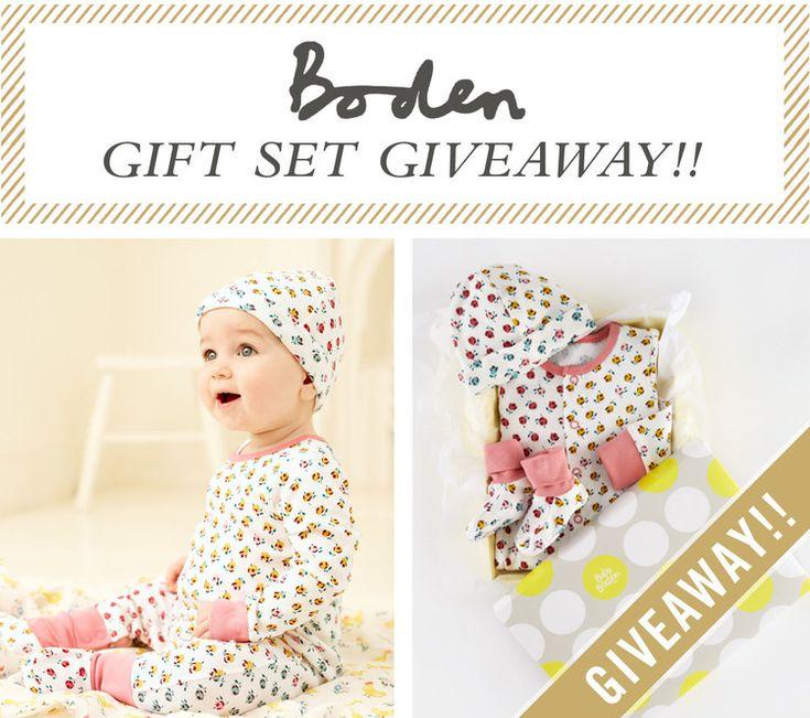 Baby Boden Gift Set Giveaway — West Coast Capri