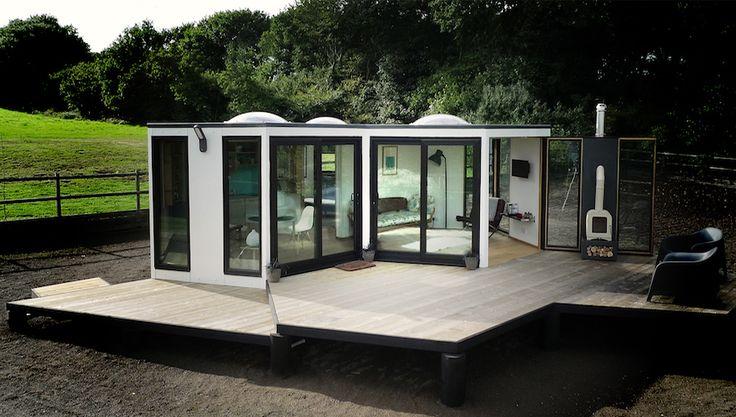 HiveHaus Hexagonal Modular Living Spaces by Barry Jackson