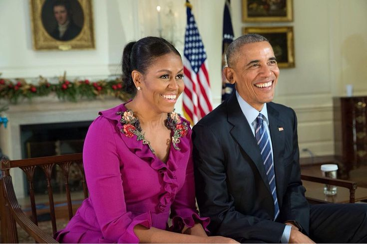 dec 2016---the obamas in their final holiday message from the white house