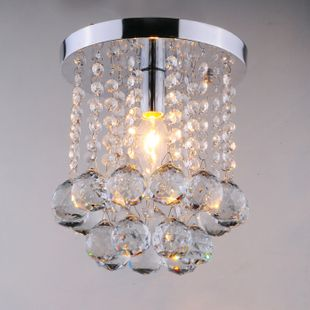Aliexpress Buy Modern Brief Circle Crystal Ceiling Light Entrance Lights Hallway Balcony