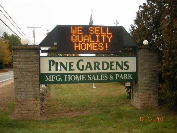 Pine Gardens Mobile Homes Sales Park In Belmont NH Via MHVillage