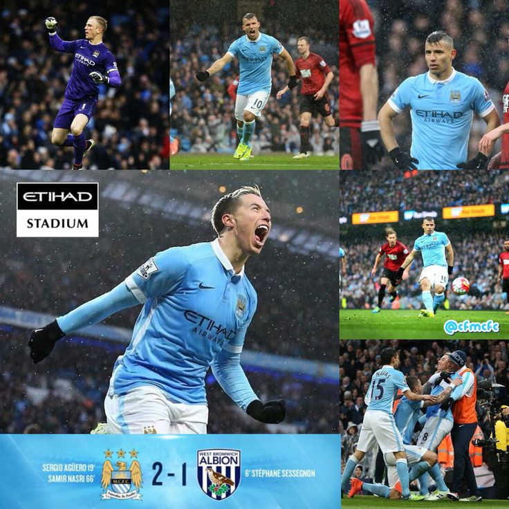 City 2 West Brom 1 Match action shots #mcfc #cityvwba #Manchester