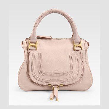 CHLOE Marcie medium satchel found on Nudevotion