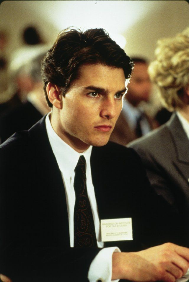 Tom Cruise -- Ah! Had the biggest crush on him when I was a kid! lol