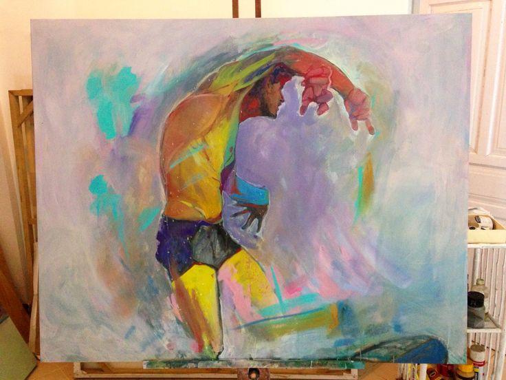 surf art, canvas 100x120cm #surfart