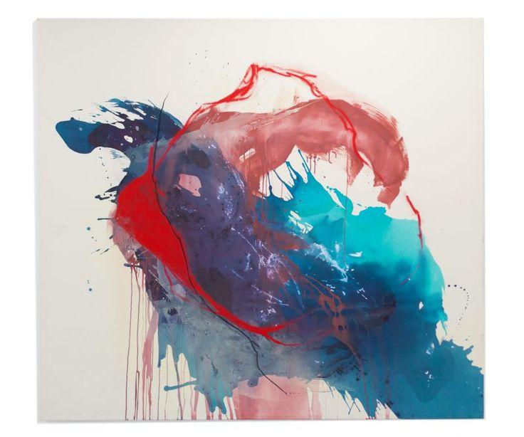 Marita Speen Art - acrylic and soft-pastel on canvas - 200x180cm | maritaspeenart.com