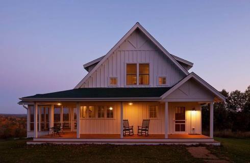 Holly Ridge Farmhouse is the centerpiece of a 40 acre hobby farm