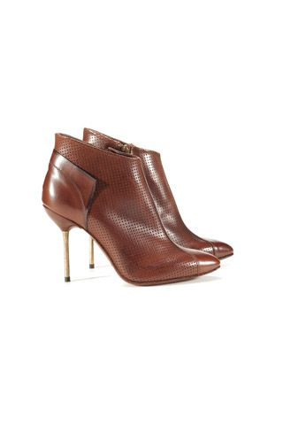 bottines marron pedro garcia