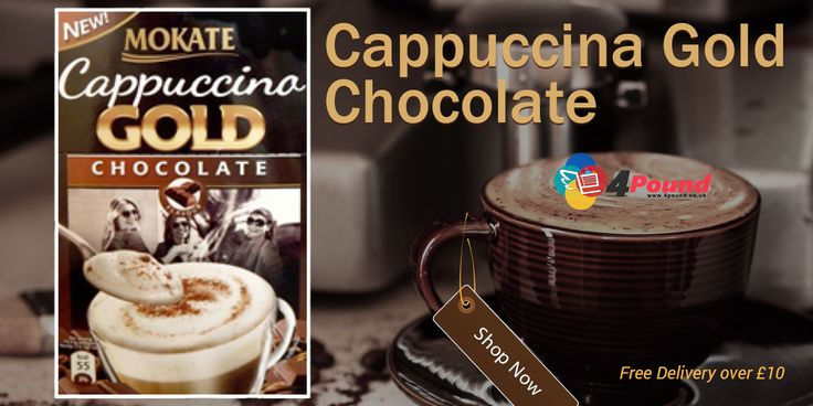 Shop Now for Cappuccina Gold Chocolate at #4pound store
