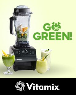 hundreds of healthy blender recipes #Vitamix Use code 06-006499 for free shipping at Vitamix.com