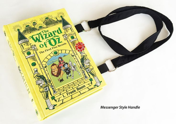 The Wizard of Oz Book Purse - Wonderful Wizard of Oz Book Purse - Wicked Witch Book Cover Handbag by NovelCreations on Etsy