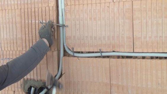 elektroinstallation  der kueche selber machen leerrohre