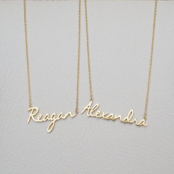 Custom Name Necklace - Personalized Name Jewelry - Custom Name Gifts - Your Name Necklace necklaces & pendants