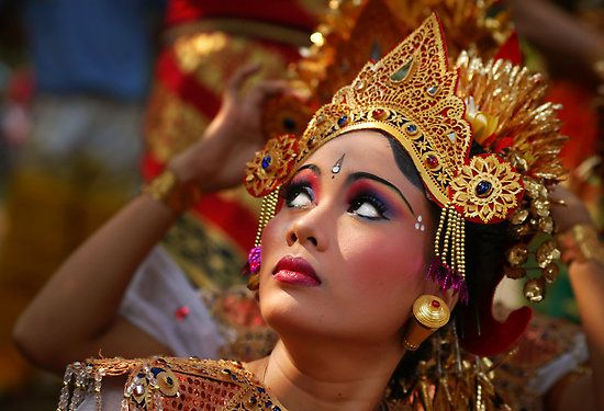 Balinese Dancer by RONI photography, redbubble.com  People at Work and Play  Pinterest