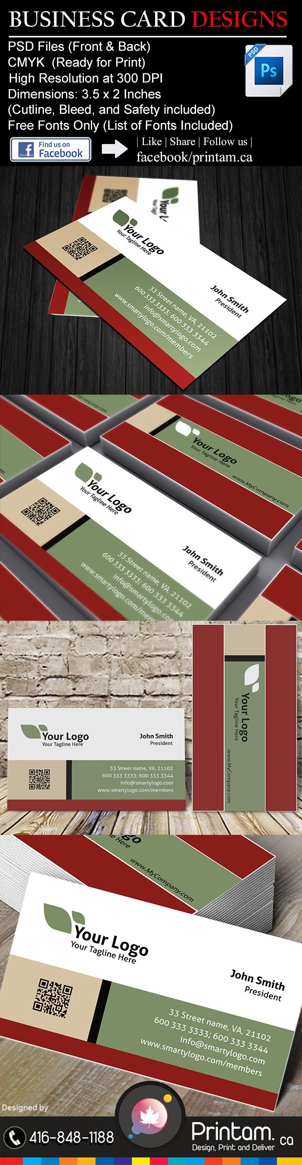 7 best Health Care - Business Card Designs images on Pinterest ...