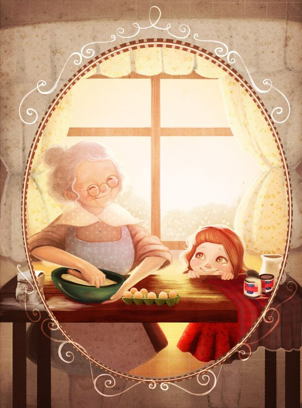 Good days by Diana Pedott, via Behance