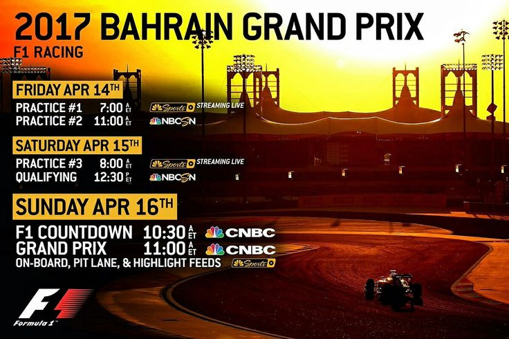 Bahrain Grand Prix 2017:  Ferrari, Mercedes, and Red Bull duel for supremacy in the desert, live on NBC Sports Network in America.  Lewis Hamilton's victory at the Chinese GP in Shanghai last weekend ignited the battle at the top of the 2017 drivers' standings.  Sebastian Vettel followed up his win in Australia with second place, giving the multiple world champions 43 points each.  Will the battle in Bahrain be a fight between the two, or will Red Bull's Max Verstapen be a factor?