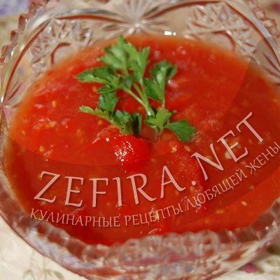 Соус – приправа из помидоров и перца на зиму-домашние рецепты с фото