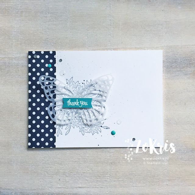 Stampin' Up! - Awesomely Artistic, Thoughtful Banners, #GDP078 - ZoKris