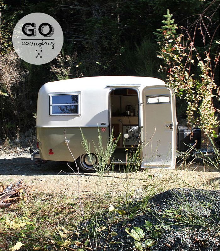 Golden Age Getaway is a project started by Gamla, a young emerging furniture and product design studio located here in Vancouver in March 2013, renting their fully restored 1973 Boler Trailer.  www.goldenagegetaway.com