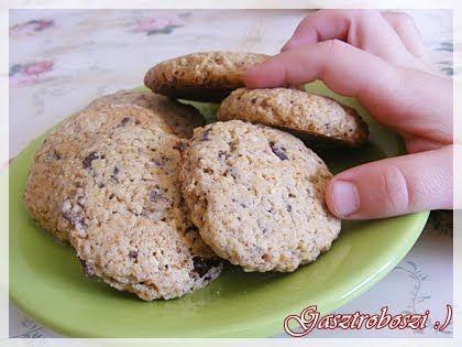 Gasztroboszi a konyhában: Zabpelyhes csokis keksz