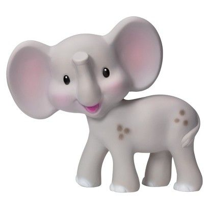 Your little one will love this Squeeze and Teeth Elephant from Infantino GaGa, only at Target. This chewy, squeaky elephant is soft, flexible and easy to grab. It's made of natural, BPA-free rubber.