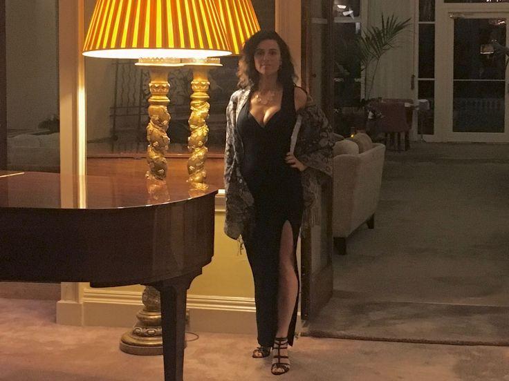 Classic Fashion Model and former BBC Apprentice, Aleksandra King at Cliveden House