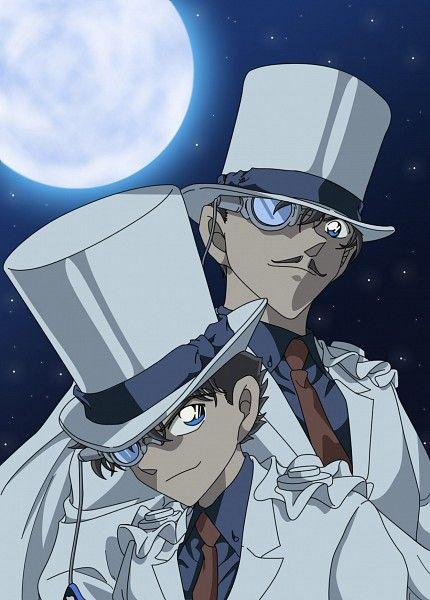Tags: Anime, Kaitou Kid, Aoyama Goushou, Kuroba Kaito, Colorization