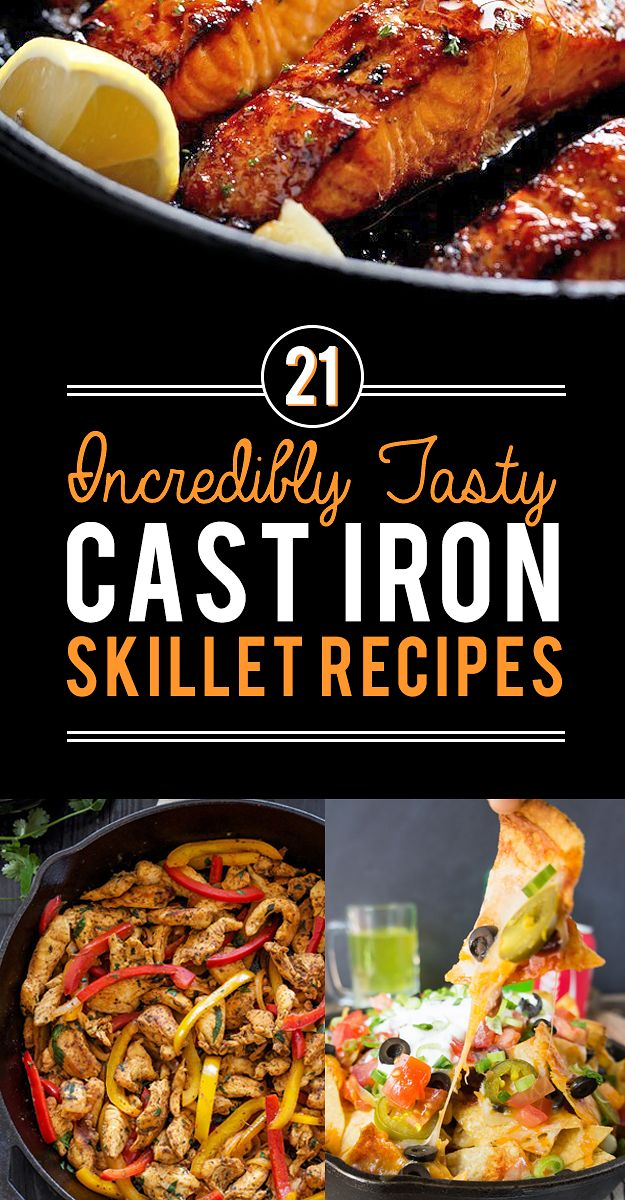21 Tasty Cast Iron Skillet Recipes You Should Try