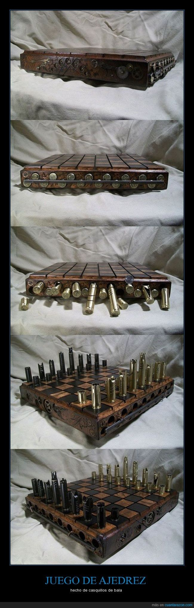Mucho mejor uso de las balas, sí señor - hecho de casquillos de bala   Gracias a http://www.cuantarazon.com/   Si quieres leer la noticia completa visita: http://www.estoy-aburrido.com/mucho-mejor-uso-de-las-balas-si-senor-hecho-de-casquillos-de-bala/