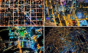 Pulitzer-prize winning photographer Vincent Laforet has completed his high-altitude photography book, Air. New York, London, Berlin, Barcelona and Sydney are among his collection of images.