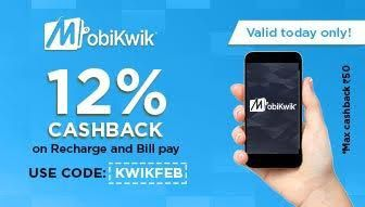In this NON-VALENTINE season Get 12% Cashback on Recharges & Utility Bill Payment on Mobikwik. (scheduled via http://www.tailwindapp.com?utm_source=pinterest&utm_medium=twpin&utm_content=post31606540&utm_campaign=scheduler_attribution)