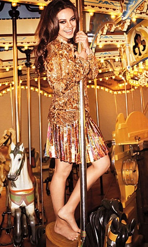 Mila Kunis - Harper's Bazaar April issue