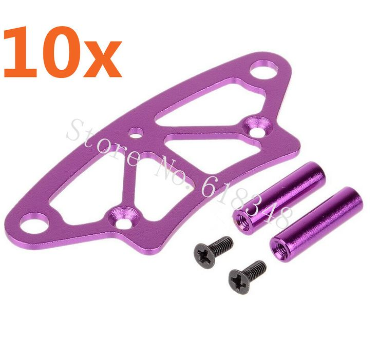==> [Free Shipping] Buy Best Wholesale 10 Sets/Lot 102058 (02009) HSP 1/10 Upgrade Parts Aluminum Front Bumper 4WD RC Drift Car On Road Flying Fish SONIC Online with LOWEST Price   32619782768